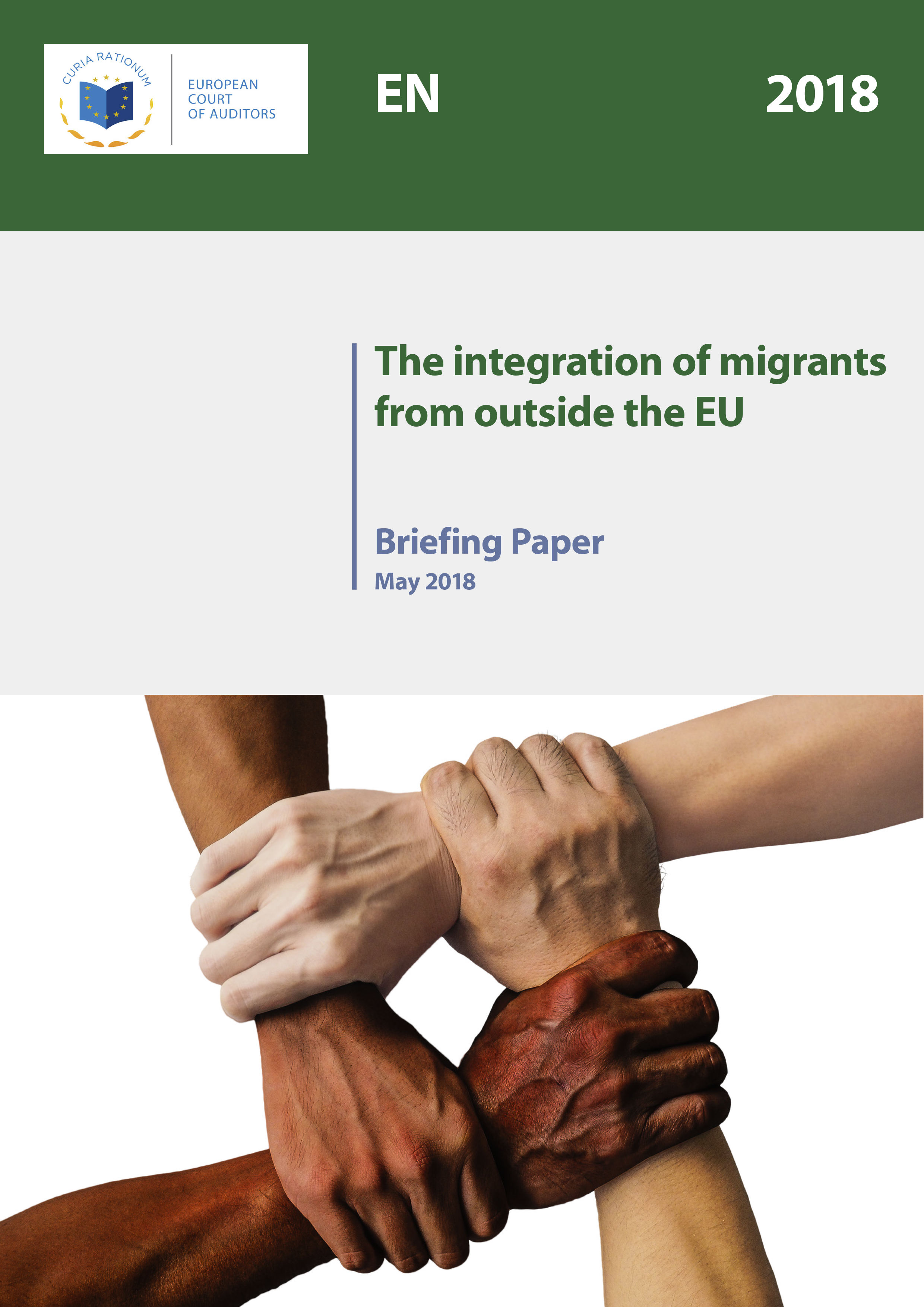 Review No 04/2018: The integration of migrants from outside the EU (Briefing paper)