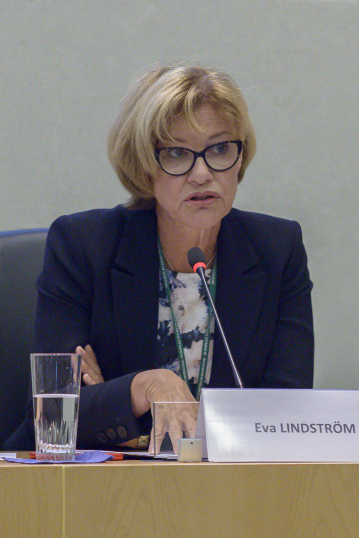 2018 ECA Award 'Jan O. Karlsson' Award Ceremony - Eva Lindström, Member of the European Court of Auditors