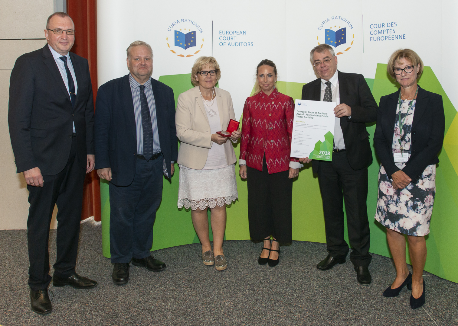 2018 ECA Award 'Jan O. Karlsson' Award Ceremony