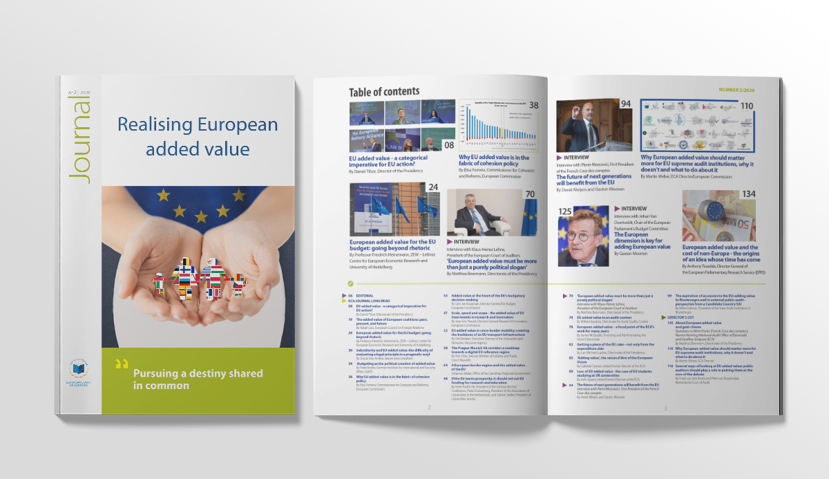 ECA Journal – Realising European added value