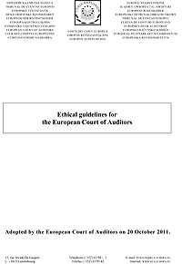 Ethical guidelines for the European Court of Auditors