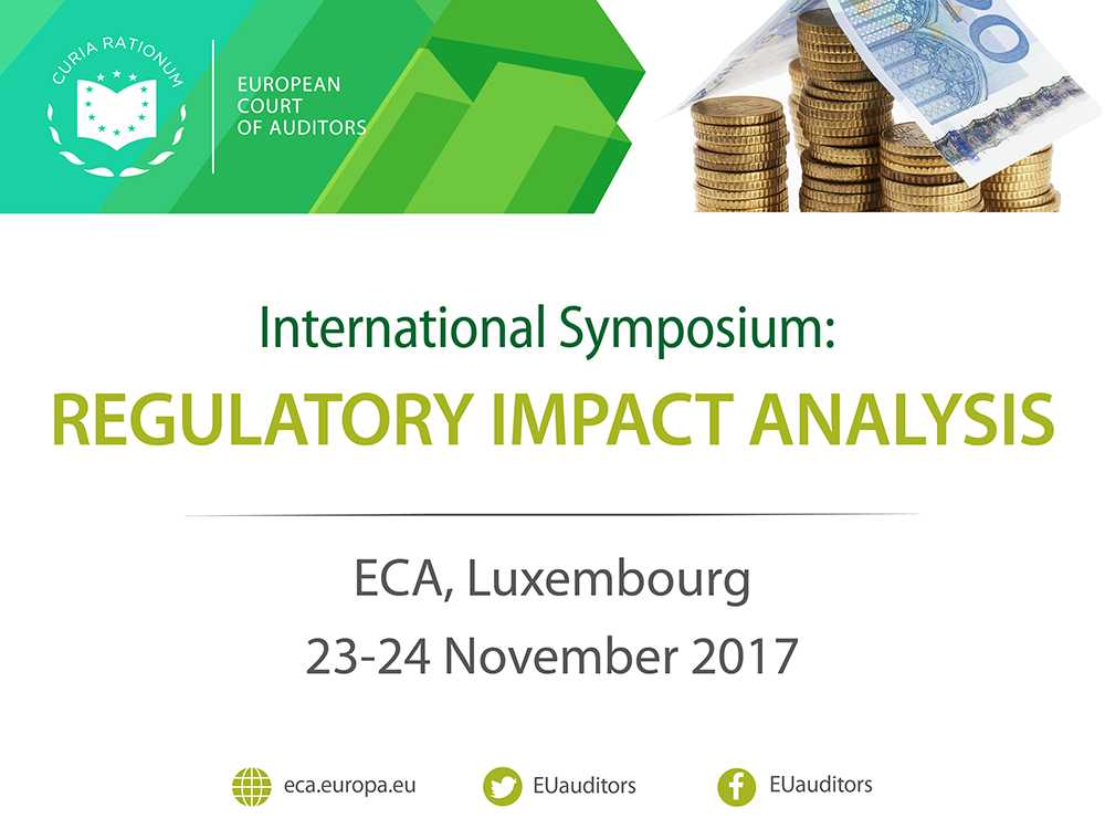 ECA hosts International Symposium on Regulatory Impact Analysis, 23-24 November - webstreaming