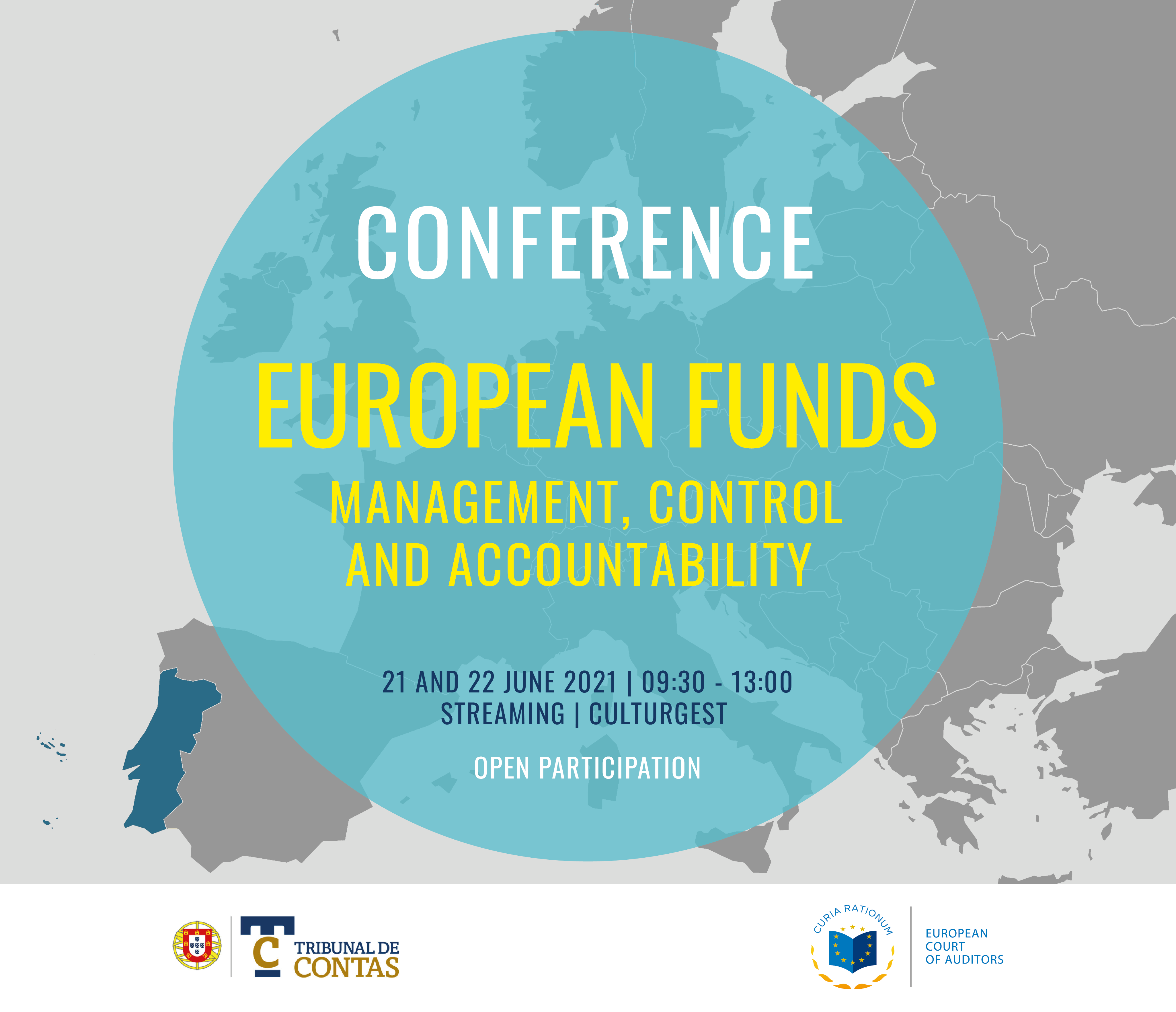 """Invitation: """"European Funds: Management, Control and Accountability"""" conference on 21-22 June 2021"""