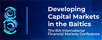 Eighth International Conference in Vilnius to develop new visions for capital markets in Baltics