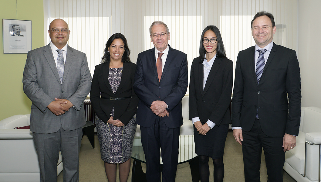 ECA welcomes delegation from Aruba's Court of Auditors