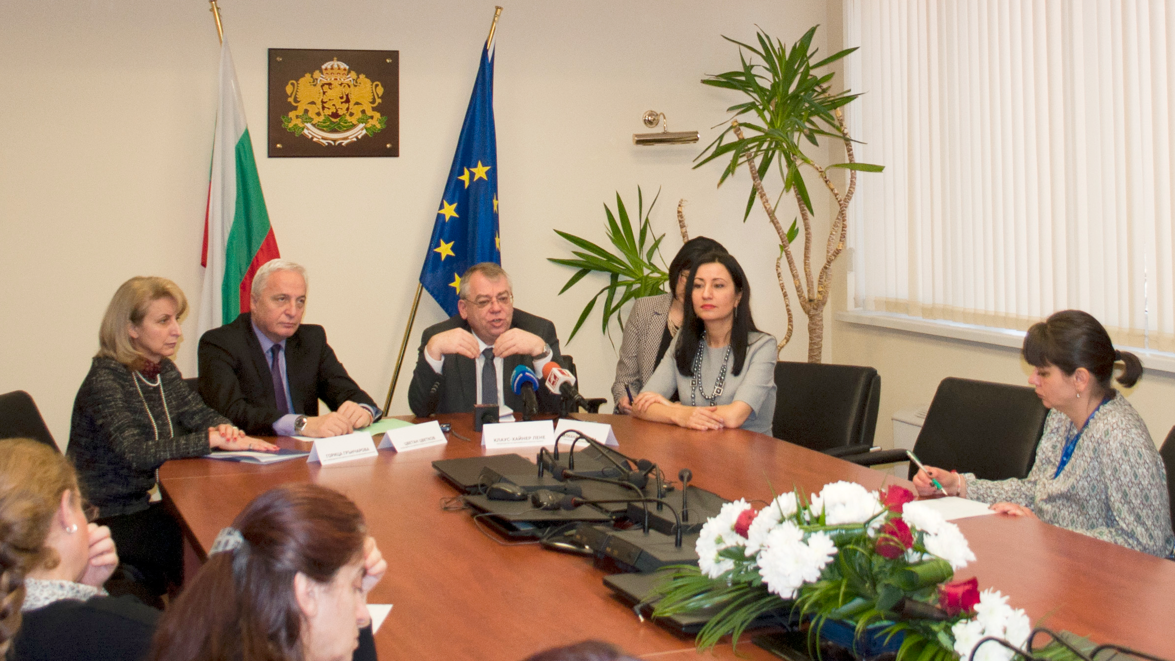 ECA President Lehne and Member Ivanova in Bulgaria today