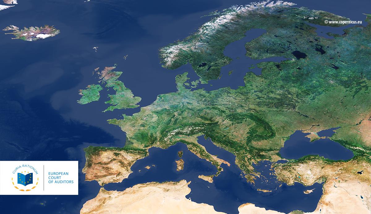 Los auditores examinan el uso de los activos espaciales de la UE