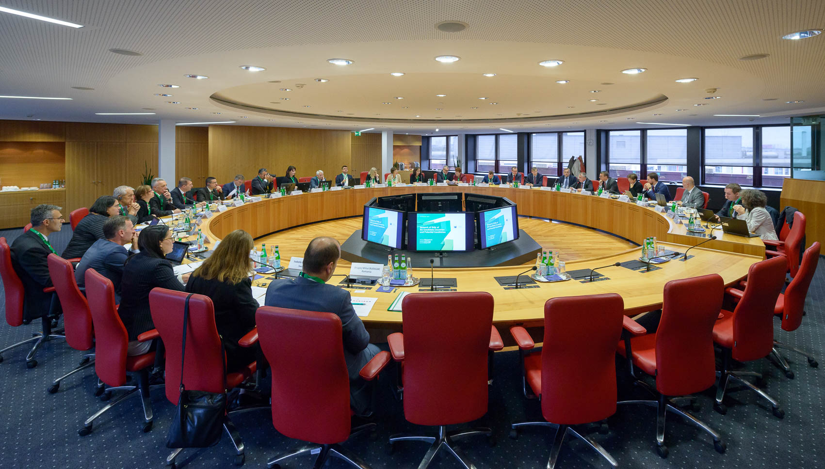 ECA hosts chief auditors from EU candidate countries and potential candidates