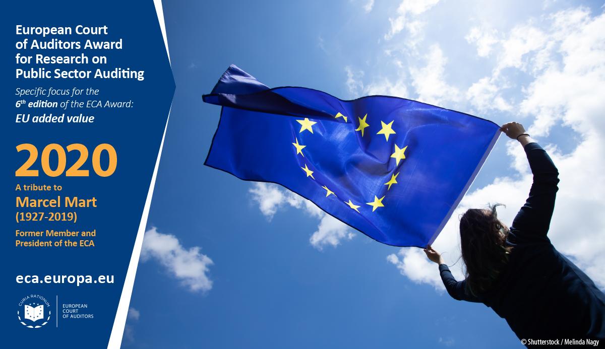 Nagrada Evropskega računskega sodišča za raziskovalno delo na področju revidiranja javnega sektorja za leto 2020