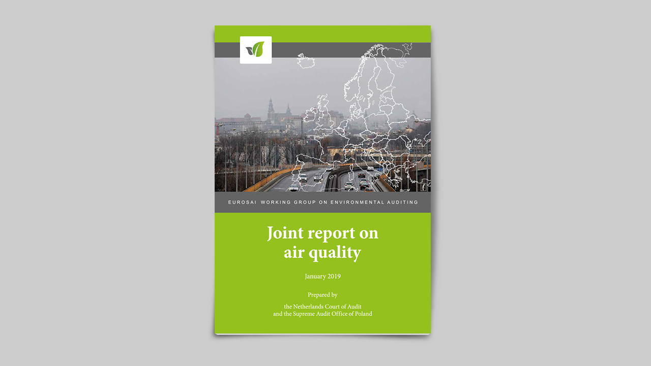 Audit institutions produce joint report on air quality in Europe