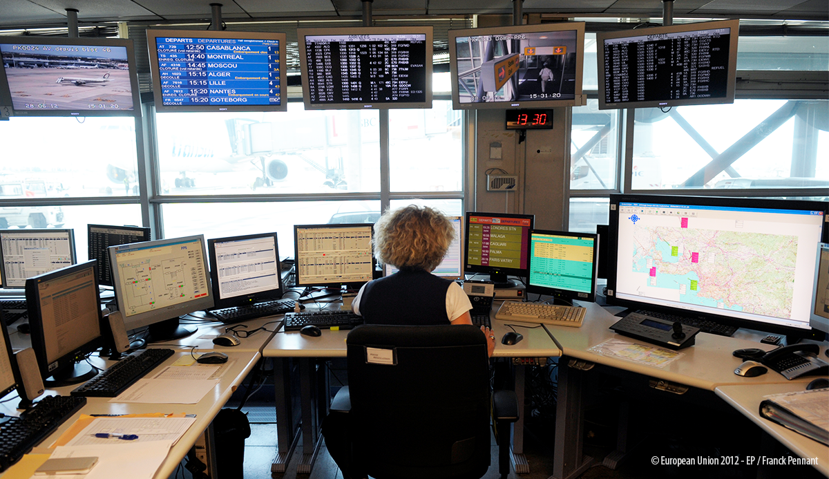 Auditors examine modernisation programme for European air traffic management