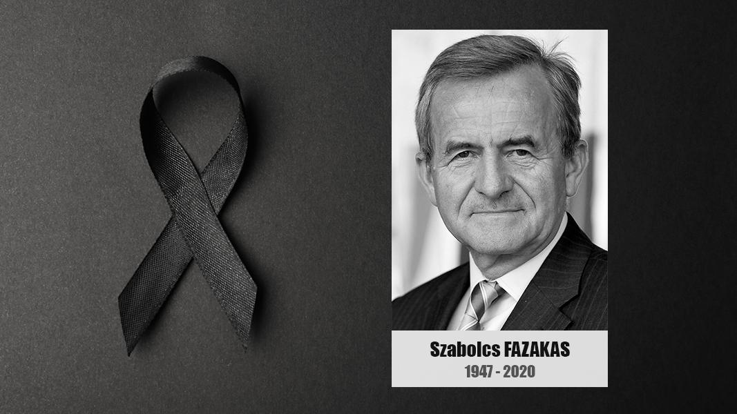 Death of Dr Szabolcs Fazakas