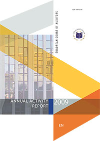 Annual Activity Report 2009