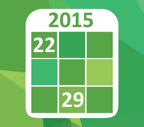 2015 Arbeitsprogramm
