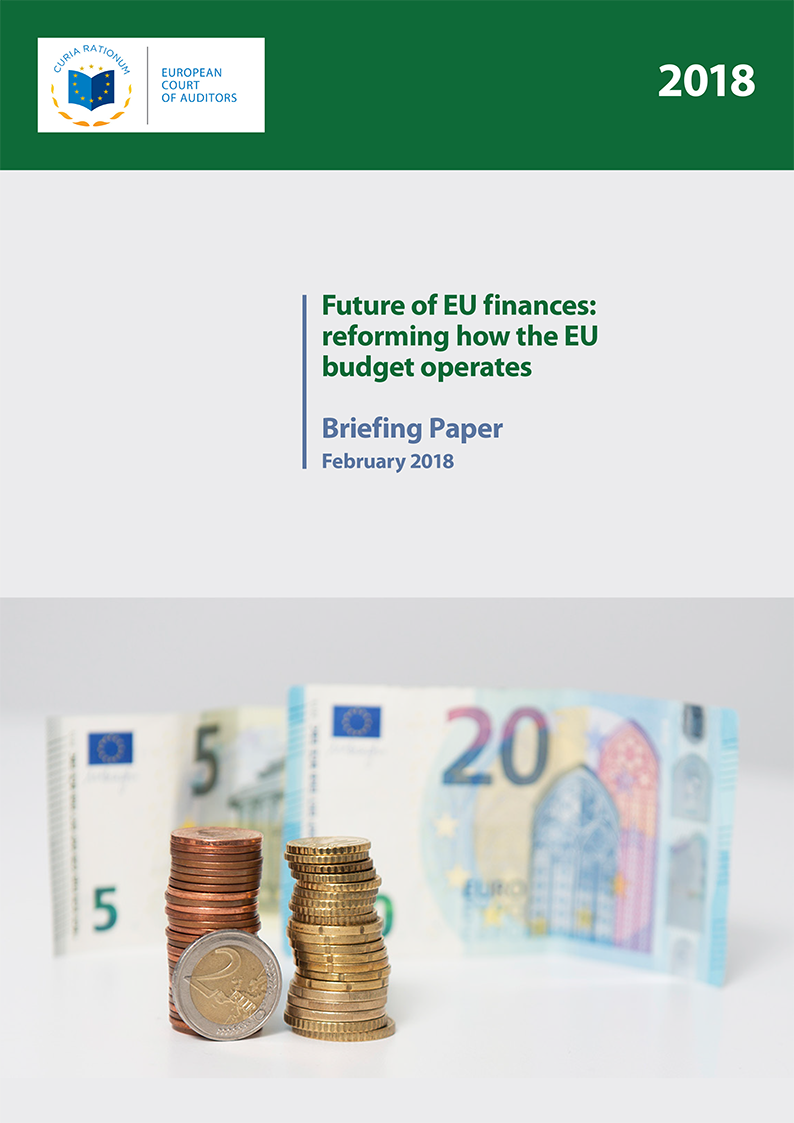 Briefing Paper: Future of EU finances: reforming how the EU budget operates