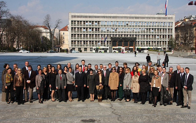 Liaison officers of the Supreme Audit Institutions (SAIs) of the 28 EU Member States and the European Court of Auditors (ECA) met in Ljubljana, Slovenia on 19 March 2015